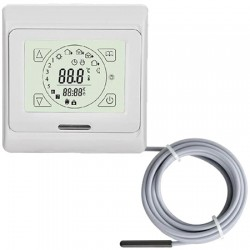 TH89 Plus thermostaat  incl ext sensor, inbouw thermostaat met vloer en ruimtesensor
