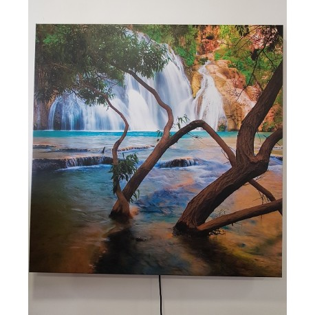 canvas 40x60cm 60W IPx4, 230V, 400W per m2, infrarood canvasdoek