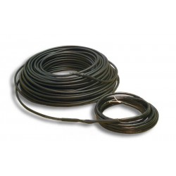 ADPSV 53mtr 6mm verwarmingskabel 20W per mtr 1070W 230Vac, robuuste verwarmingskabel voor in zand cement of beton