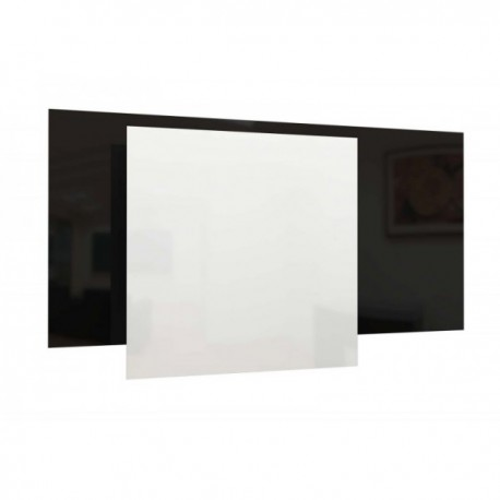wit 60x60cm 300W infrarood glaspaneel, 230V, made in europe