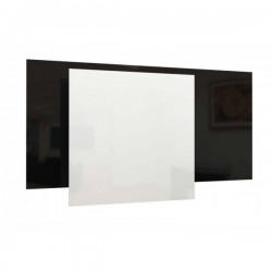 wit 80x120cm 850W infrarood glaspaneel, 230V, made in europe